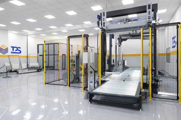 Indoor image of the transit packaging solutions center