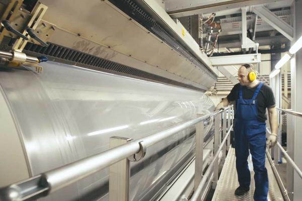 Production of stretch film