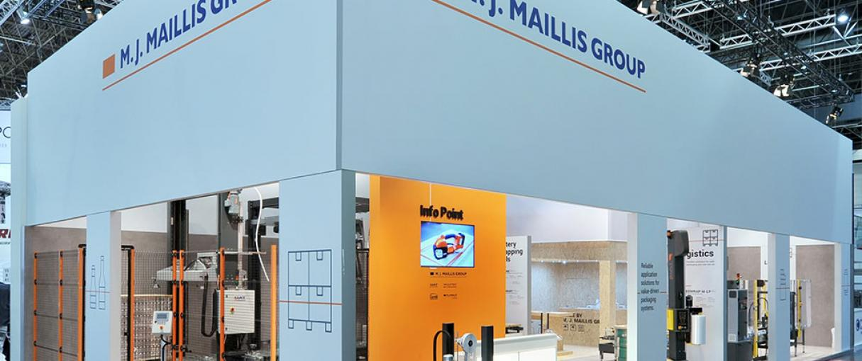 Maillis booth at Interpack 2017
