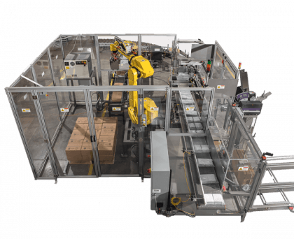 ErgoPakPal Case Packer & Palletizing System